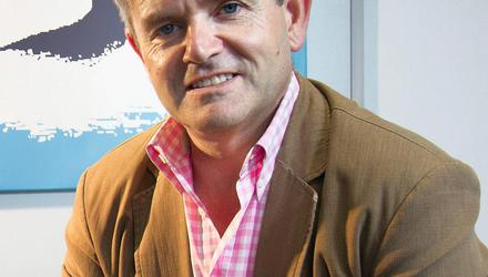 TV producer Larry Bass is known for his direct and no-nonsense approach, and has fallen out with RTÉ in the past