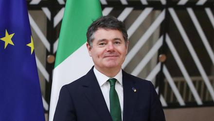 Finance Minister Paschal Donohoe. Photo: Yves Herman/Reuters