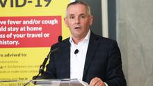 Paul Reid, chief executive of the HSE, made an early decision that it should admit if mistakes had been about dealing with the pandemic. Photo: Leon Farrell/Photocall Ireland.