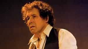 Actor Stephen Rea performing in 'Kicking a Dead Horse'.