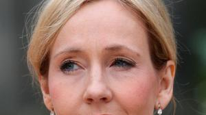 Author JK Rowling gifted a million quid to the Labour party when Gordon Brown was in power. Photo: PA