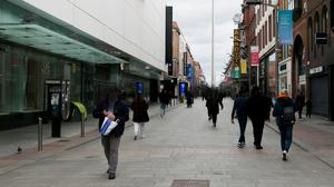 There is a lack of public toilets available in Dublin city centre