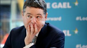 Finance Minister Paschal Donohoe will present an assessment of the Irish economy to the European Commission. Photo: Steve Humphreys