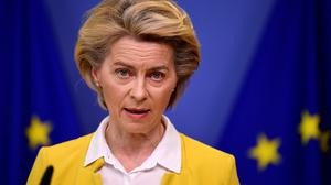 President of the European Commission, Ursula von der Leyen. Photo: John Thys/AP.