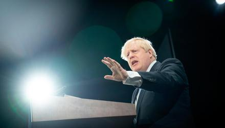 Boris Johnson led the Tory party conference in overblown rhetoric and sabre-rattling