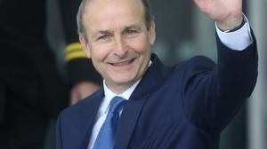 Let's be blunt lads, you've had your day. Pictured, Micheál Martin