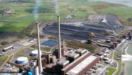 The coal-fired Moneypoint power station in Co Clare