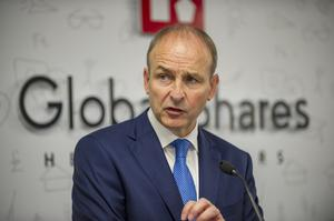 'Events': Micheál Martin has experienced a series of political mishaps since he became Taoiseach. Photo: Domnick Walsh