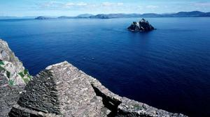 Skellig Michael in Co Kerry. Holidays at home are making us understand why American tourists were left in awe by our scenery. Photo: Don MacMonagle