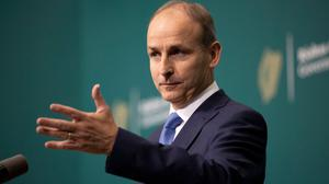 The vultures are circling: As he tries to guide Ireland through the pandemic, Micheál Martin must now also be wary of fellow party members. Photo: Tom Honan/PA Wire