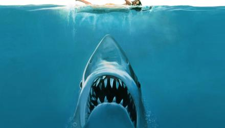 Ian says he cried at the cinema as a five-year-old when when Brody killed the shark in Jaws