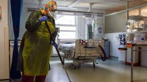Hospital cleaners have a right to be recognised and appreciated. Photo: Steve Parsons/PA