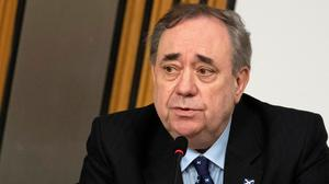 Alex Salmond's new party, Alba, will rival the Scottish National Party in the May 6 elections. Photo: Andy Buchanan/Reuters