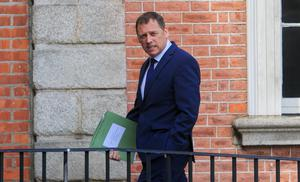 Under pressure: There have been calls for Agriculture Minister Barry Cowen to go after his appointment by Taoiseach Micheál Martin. Photo: Gareth Chaney/Collins