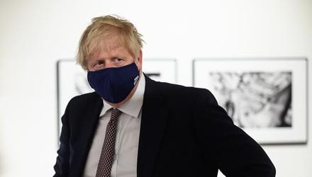 Boris Johnson disagreed with the EU on implementing the Northern Ireland protocol.