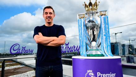 Gary Neville was incandescent with rage over European Super League . Picture by David Fitzgerald/Sportsfile