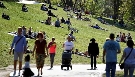 People in Germany have been following Covid health rules, but the virus does not dominate the news or conversation 24/7. Photo: Reuters