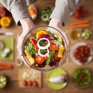 On the menu: Vegan diets are growing in popularity. Stock image