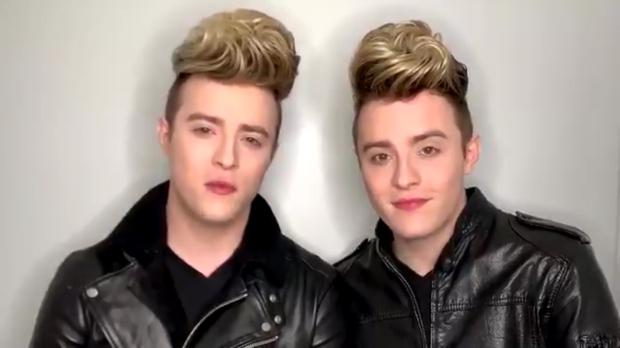 Telling it like it is: Jedward strongly criticised Simon Cowell on Twitter