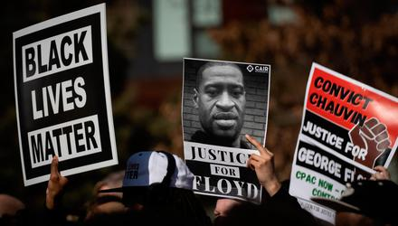 Many younger people identify with the Black Lives Matter movement. Photo: Christian Monterrosa/Bloomberg
