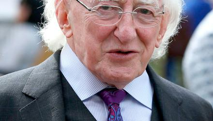 President Michael D Higgins has spoken out about the advertising