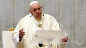 Pope Francis had canonised almost 900 new saints by the end of 2019. Photo: Reuters