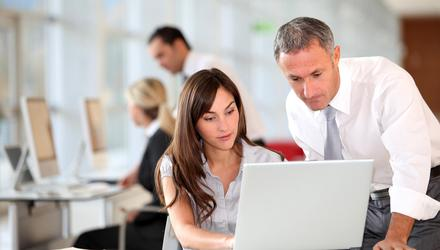 Surveys show younger workers would rather quit than return to the office - but they need an office environment the most. Starting out in your career, you learn much from the casual mentorship of older colleagues. Picture posed