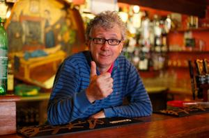 Keeping the spirits up: Billy Keane and his fellow publicans face an uncertain future due to the restrictions imposed as a result of the Covid-19 crisis. Photo: Mark Condren