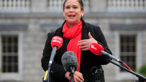 Sinn Fein President Mary Lou McDonald. Photo: Gareth Chaney/Collins