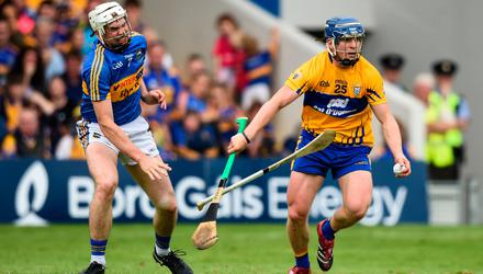 Tipperary verses Clare in the Munster GAA Hurling Senior Championship Round 4 in 2018. The rivals are set to play each other this weekend. Photo by David Fitzgerald/Sportsfile