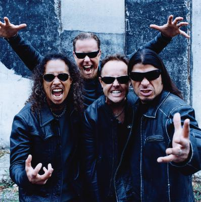 Nothing Else Matters: Metallica were the first band to go after Napster for 'stealing' their songs