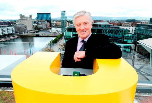 Pat Kenny has joined UTV Ireland