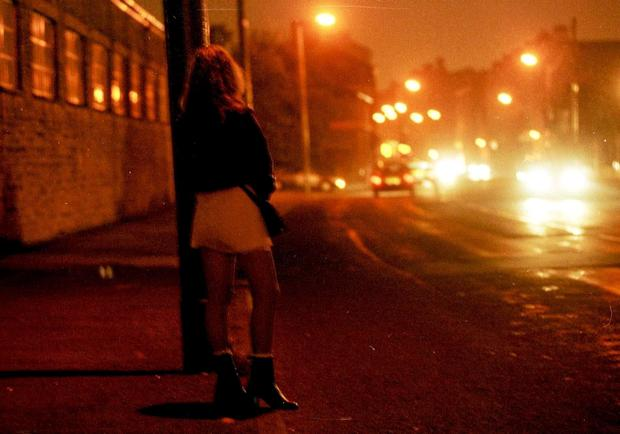 Proposed laws could force prostitutes to work in less visible, less safe places. Picture is posed