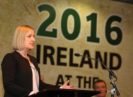 Lucinda Creighton: hopes to hold the balance of power. Photo: North West Newspix