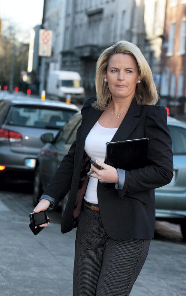 Senator Lorraine Higgins, who wants to bring in new legislation to create two new offences – harmful electronic communication and malicious electronic communication.