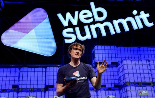 Paddy Cosgrave at the Web Summit
