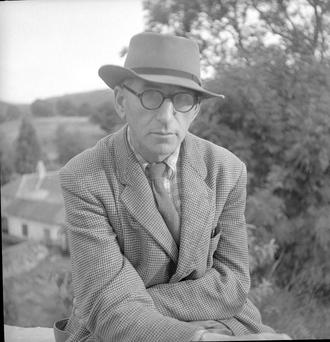 The poet Patrick Kavanagh