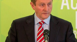 Taoiseach Enda Kenny. Photo: Mark Condren