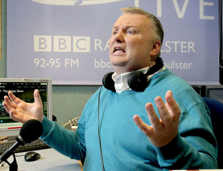 Food fight: Stephen Nolan of BBC Radio Ulster