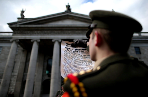 'The Proclamation was still a work in progress when death put an end to all discussion and gave a certain sanctity to the document that was read out on the day' Photo: Julien Behal