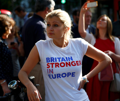 'Middle England voted to remain and has yet to come to terms with the loss of automatic rights to jobs, education, residence and healthcare in the EU – never mind joining the tortuous 'non-EU' queues at airports.' Photo: Reuters
