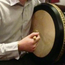 The bodhrán is elemental Irish pulse music.