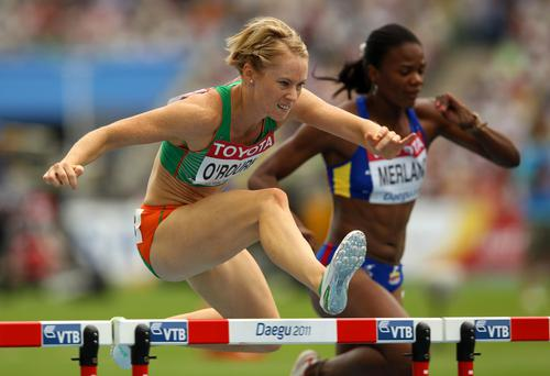 Former Olympian Derval O'Rourke branded the allegations of ticket-touting as 'disgusting'
