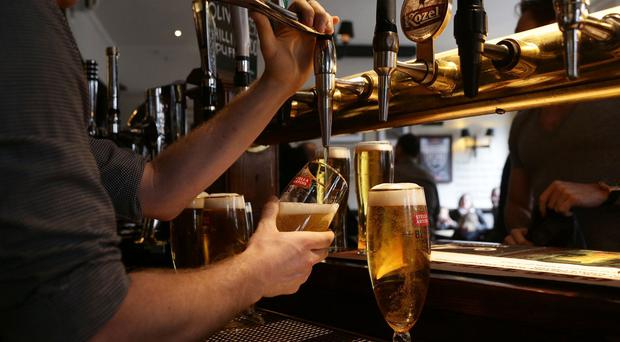 The 'Irish Beer 2015' report showed that consumption of beer dropped by 2.5pc last year, but recorded an increase in production of 6pc
