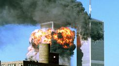 Fiction trumps the facts every time as internet theories about the causes of 9/11 win out no matter how bizarre. Picture shows the Twin Towers on September 11, 2001.