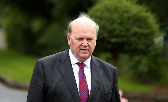 Finance Minister Michael Noonan: preparing the upcoming Budget