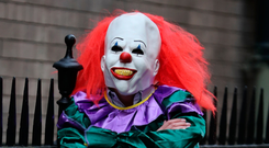 'The Government has urged everyone to stay calm about the creepy clowns and has said that in fact they are our friends' Photo: PA