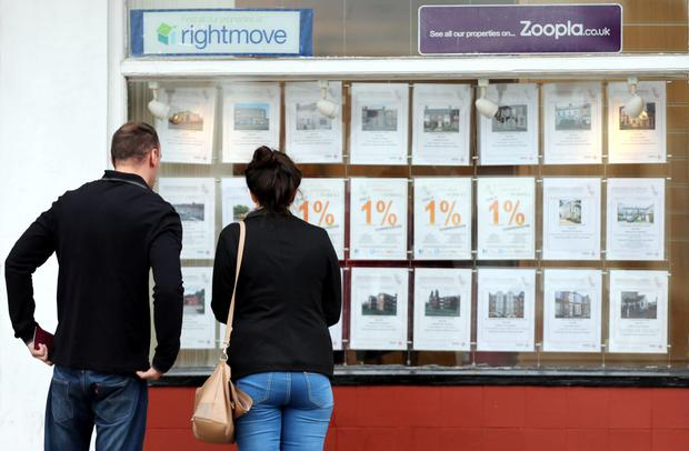 Estate agents' windows are once again filled with flowery puff pieces for property