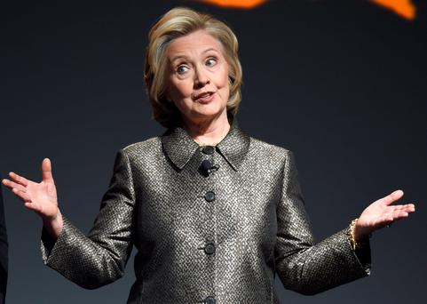Hillary Clinton. Photo: AFP/Getty
