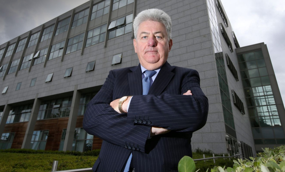 Jimmy Menton Chairman of St Vincents Health Care group,pictured outside St Vincents Hospital.